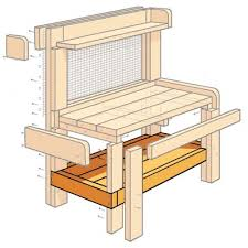 Build A Potting Table Great For Parties Too  Potting Tables Plans For A Potting Bench