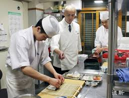 Sushi Cook Sushi Restaurant Starts 8 Month Chef Training Amid Lack Of