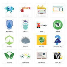 Labor Day Free Online Set Of 16 Simple Editable Icons Such As Labor Day Online Form