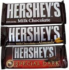 hershey almond candy bars.  Almond Hersheyu0027s Candy Bar 36 Count Box Pick Plain Almond Or Dark  BlairCandycom Throughout Hershey Bars