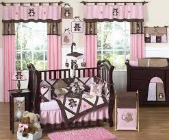 bear crib bedding pink and chocolate teddy bear baby girls bedding crib set ballerina bear crib