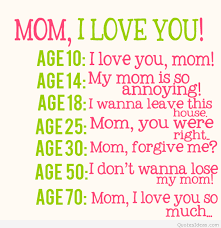 I Love You Mom Quotes Magnificent Happy Mother's Day I Love You Mom