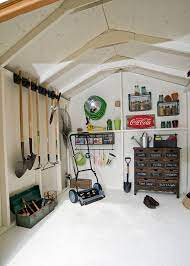storage shed interior design ideas