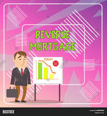 Reverse Mortgage Age Chart Word Writing Text Image Photo Free Trial Bigstock