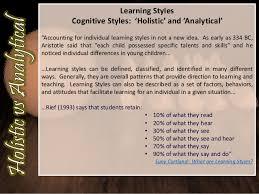 Holistic Vs Analytical Thinking