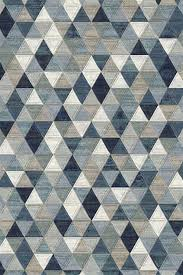 premium quality power loom made in belgium rug with geometric triangle design deals on rugs