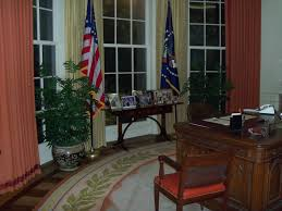 ronald reagan oval office. The Replica Oval Office Ronald Reagan J