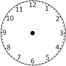 Blank Clock Face Without Hands