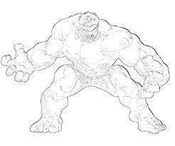 Incredible Hulk Coloring Pages Free Printable At Getdrawingscom