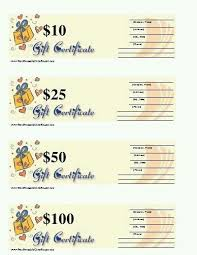 gift certificate for business 23 best mk gift certificates images on pinterest gift certificates