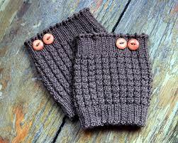 Knit Boot Cuff Pattern Free