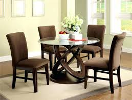 glass dinette sets glamorous round dining table and how to beautify it with the room small glass dinette sets