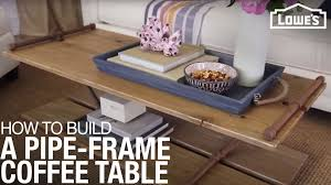 For example, a schooner coffee table with nested storage stools can add four padded seats to your living room, as well as provide space for games in each case, a coffee table with stools can expand seating and even storage in a home that has limited options for space. Pipe Frame Coffee Table