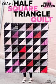Half Square Triangle Quilt Designs Half Square Triangle Quilt Pattern Hst Tutorial Half