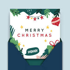 Check out our christmas card template selection for the very best in unique or custom, handmade pieces from our christmas cards shops. Free Vector Merry Christmas Card Template