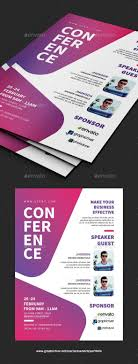 Meeting Flyer Design Conference Flyer Print Templates Flyers Events Tags Annual