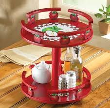 apple kitchen decor. apple decorations for kitchen   decor tiered lazy susan from collections etc. #pinatoz .