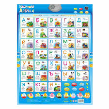 Us 10 78 10 Off Russian Language Learning Poster Baby Education Abc Learning Machine Toy Alphabet Music Phonic Wall Hanging Chart Kids Gift Book In