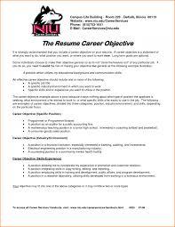 cover letter job objective in resume career objective in resume ...