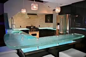 enhance your kitchen with a thinkglass countertop