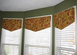 Valance For Kitchen Windows Studio Window Valance Idea I Like This Angled Look And Straight