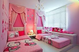 bedrooms for girls hello kitty. Wonderful Bedrooms Bedroom Kids For Girls Hello Kitty Lovely With Regard To Intended  For Chambre On Bedrooms T