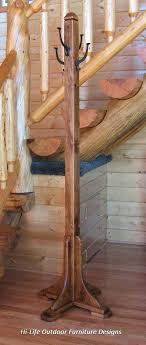 Best Coat Rack Ever Interesting Hanging Hall Tree Best Coat Tree Ideas On Wood Coat Hanger Natural