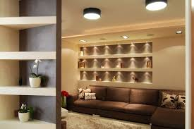 wall shelf ideas living room modern with accent wall area