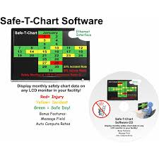Safe T Chart Software For Use With Lcd Monitors To Display