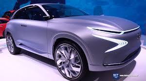 2018 hyundai fuel cell. fine hyundai 2018 hyundai fe fuel cell concept  exterior interior walkaround debut  2017 geneva motor show for hyundai fuel cell n