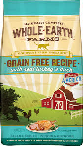 petco dog food whole earth.  Food Whole Earth Farms GrainFree Real Turkey U0026 Duck Recipe Dry Cat Food 10lb  Bag  Chewycom Intended Petco Dog Food