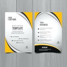 Brochure Template Design Free Free Flyer Brochure Templates Design Download For Word 2007