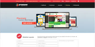 pharmacy design company pharmacy custom web design affordable free layout proweaver inc