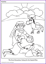 Small Picture Good Samaritan Coloring Page Coloring Pages Online