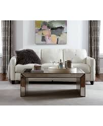 Leather Furniture For Living Room Emilia Leather Sofa Living Room Collection Furniture Macys