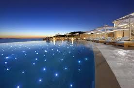 Infinity pools hotel Romantic Mykonos Infinity Pools Hotels Villas Mykonos Secrets 13 Best Infinity Pools Of Mykonos Mykonos Secrets