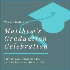 Create Graduation Invitation Online Graduation Invitation Card Maker Free How To Make A Graduation