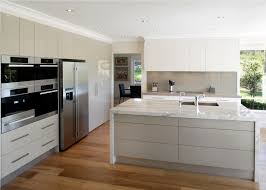 Wooden Floors For Kitchens Modern White Wood Kitchen Cabinets