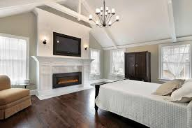 Built In With Fireplace Built In Linear Electric Fireplace Using Modern Indoor Electric