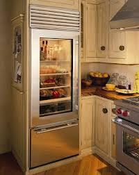 THe 611G Glass Door Refrigerator & Freezer