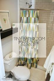 Cheap Bathroom Makeover Awesome Small Bathroom Design On A Budget Homemade Ginger