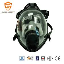 Ce Approved Respiratory Protection Anti Smoking Face Mask Full Face Mask Respirator With Single Double Protection Filter Buy Anti Gas Mask Antigas