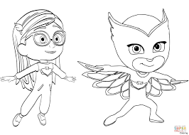Pj Masks Coloring Pages How To Draw And Color Catboy Gekko And