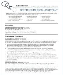 Resume Templates Medical Assistant Stunning Free Healthcare Resume Templates Medical Assistant Template 28 Cv