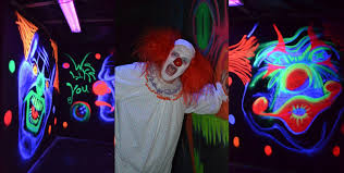haunted house lighting ideas. Haunted House Room Ideas   Third Was The Clown Room. Lighting