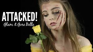 glam gore belle makeup tutorial