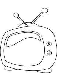 tv coloring pages. Beautiful Pages Television Coloring Page Inside Tv Coloring Pages A