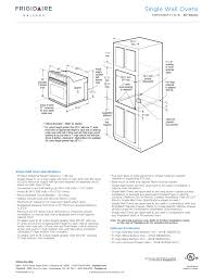 30 single electric wall oven gallery single wall ovens frigidaire fgew3065pf user manual