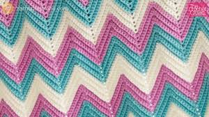 Double Crochet Ripple Afghan Pattern New Secrets Revealed Crochet Chevron Afghan Size Changes Video