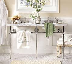 Image Belle Epoque Decorpad Apothecary Double Sink Console Pottery Barn